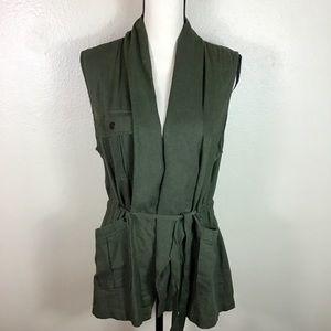 ANTHRO- Sanctuary Brand draped anorak vest Size M